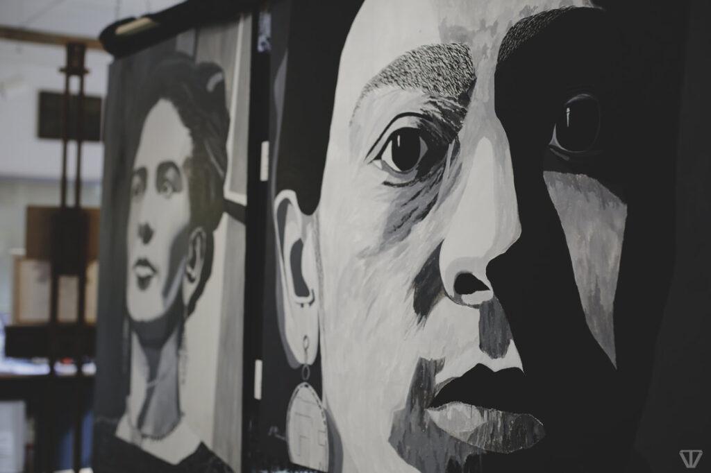 Frida Kahlo portraits by artist John McDonald