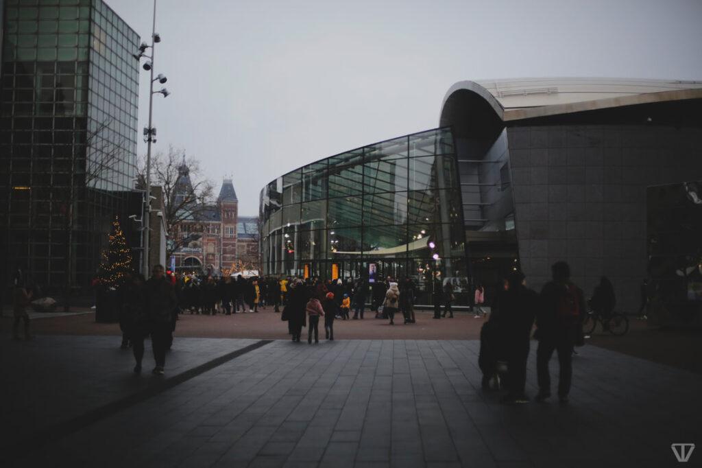 Christmas in Amsterdam